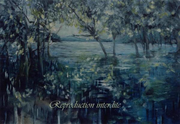 Sous-bois dans l'eau(1998)